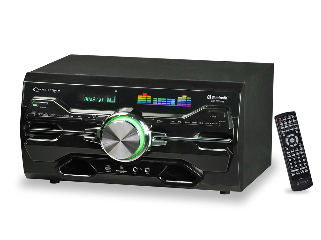 ... Technical Pro - Pro Bluetooth® DVD Receiver ...