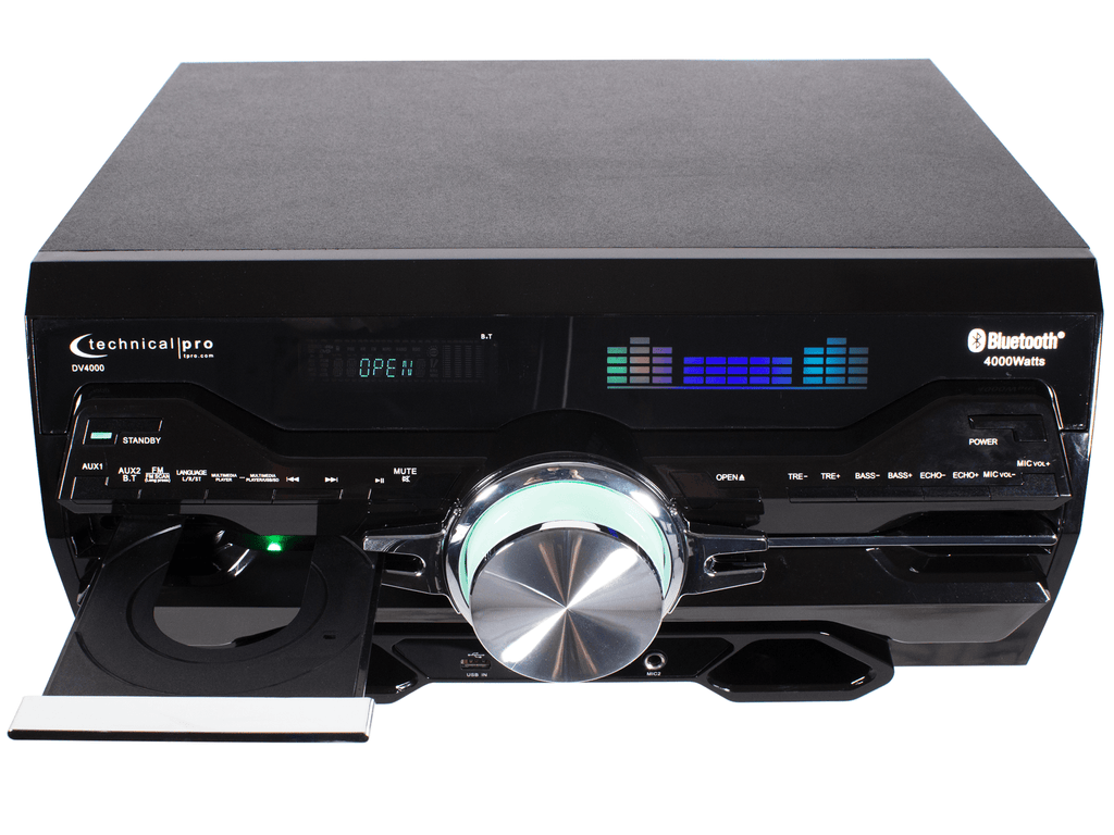 Pro Bluetooth® DVD Receiver