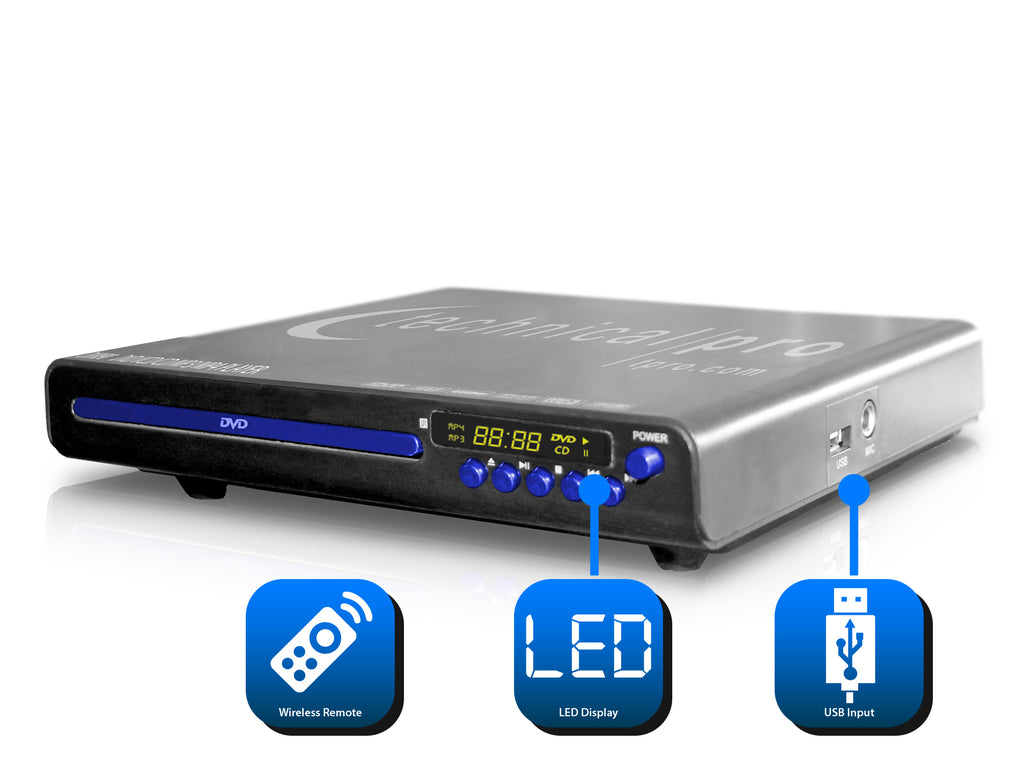 Professional DVD Player with HDMI Connectivity