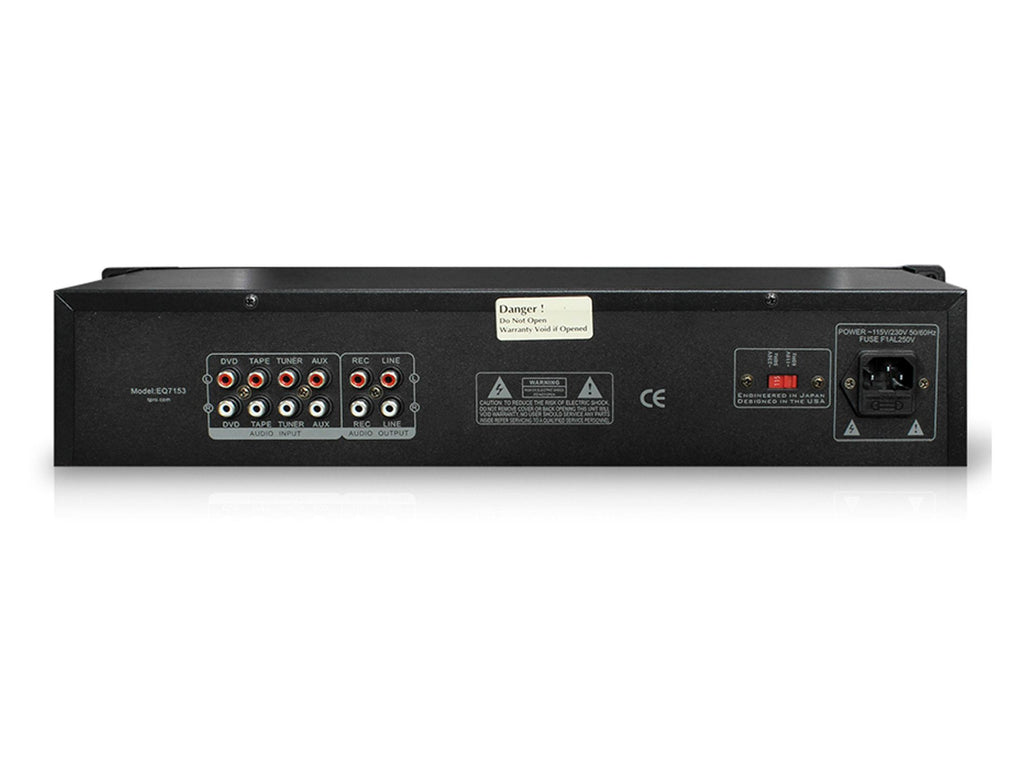 Technical Pro - Pro Dual 10 Band Equalizer