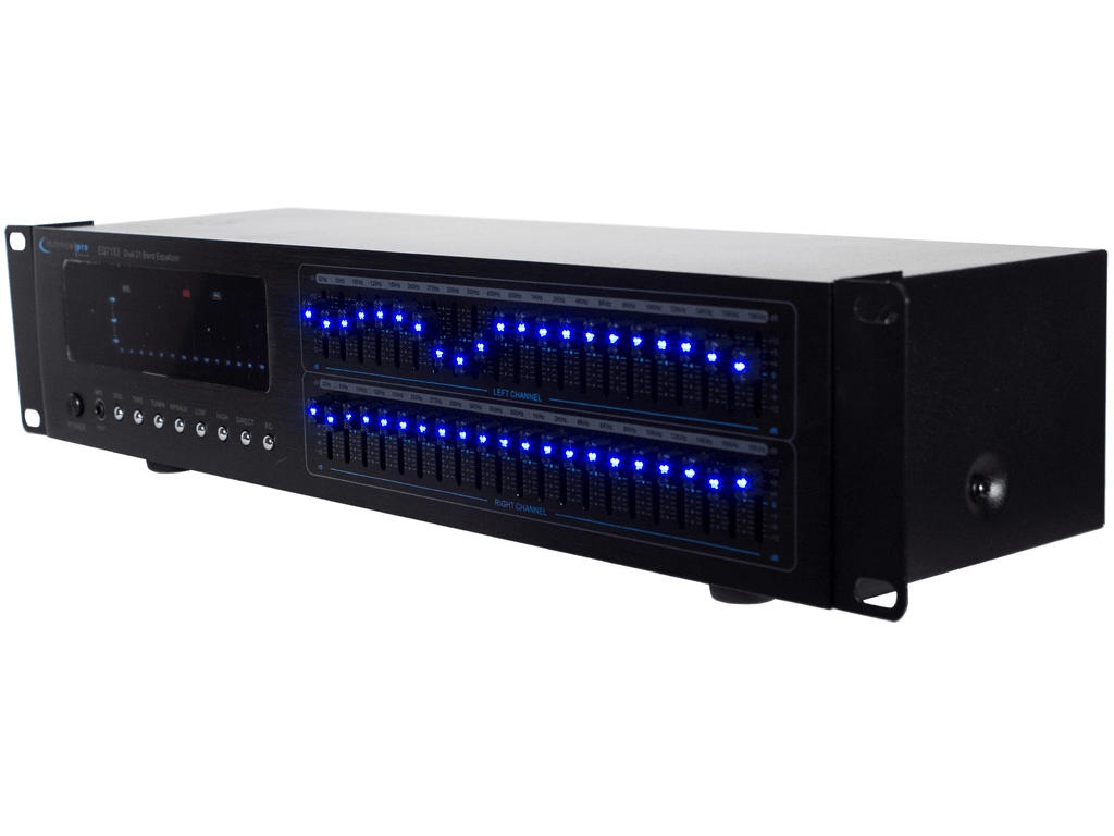 Technical Pro - Pro Dual 21 Band Equalizer