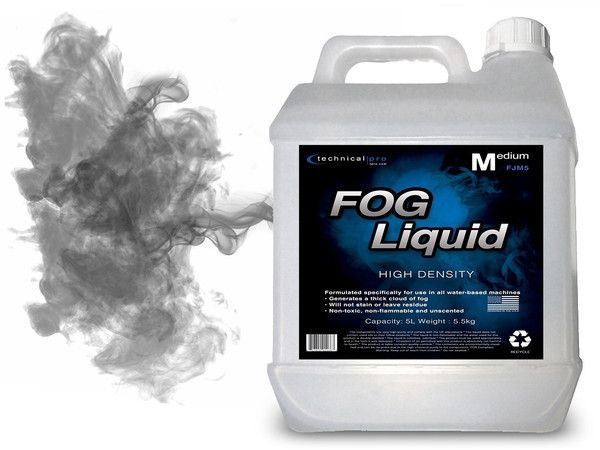 Stage Lighting & Effects Atmospheric Effects Fluids Responsible Non-toxic Strong Smoke Fog Fluid Liquid 5l Water-based For Standard Machines