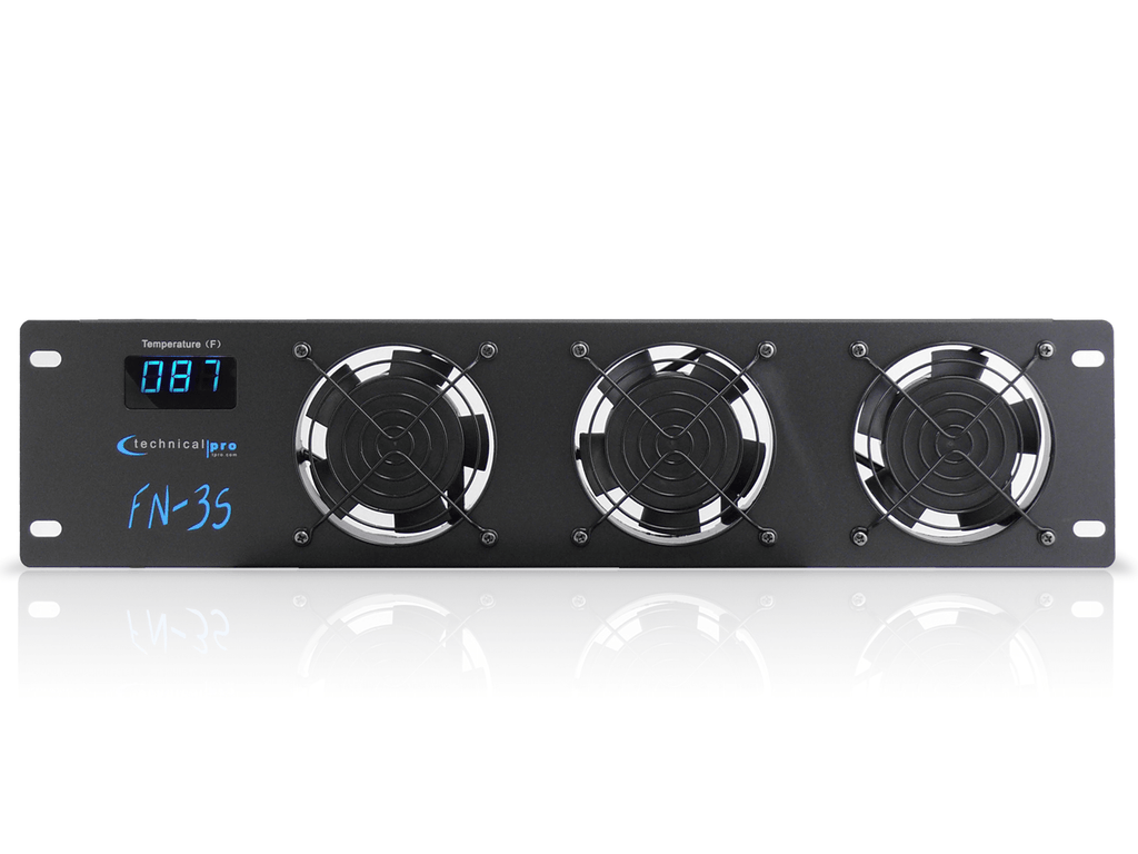 Technical Pro - 2.5U Rack-Mountable Triple Fan Cooling Unit