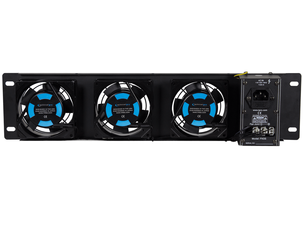 2.5U Rack-Mountable Triple Fan Cooling Unit