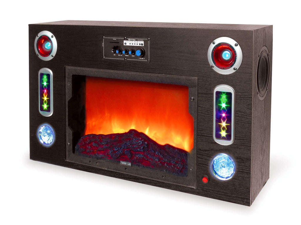 Technical Pro - Electric Fireplace Bluetooth® Entertainment Center