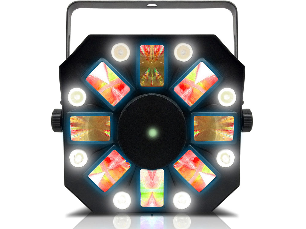 Technical Pro - Pro DMX DJ Multi Pattern Laser & Stage LED