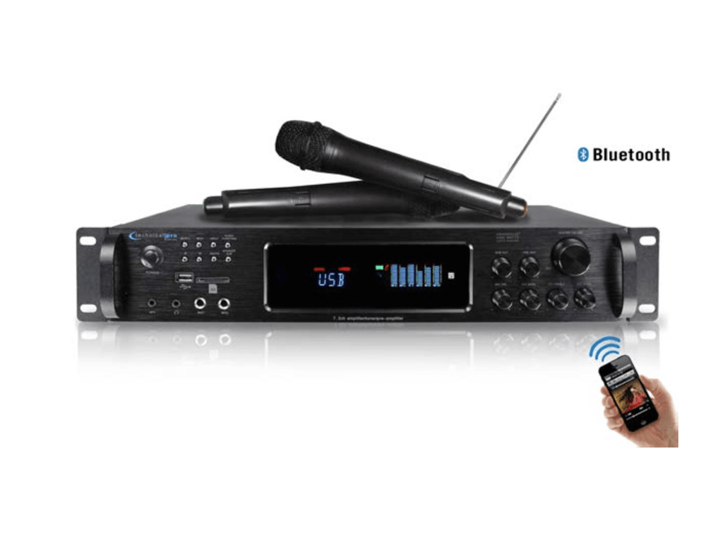 Technical Pro - Digital Bluetooth® Hybrid Amplifier