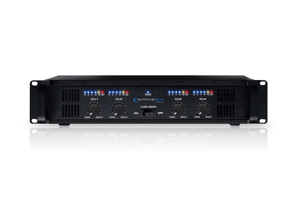 Technical Pro - Pro 4CH Power Amplifier