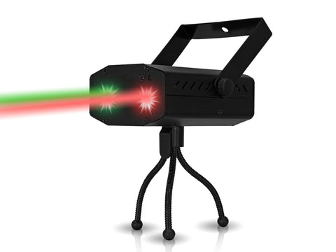 Pro DMX DJ Multi Pattern Laser & Stage LED