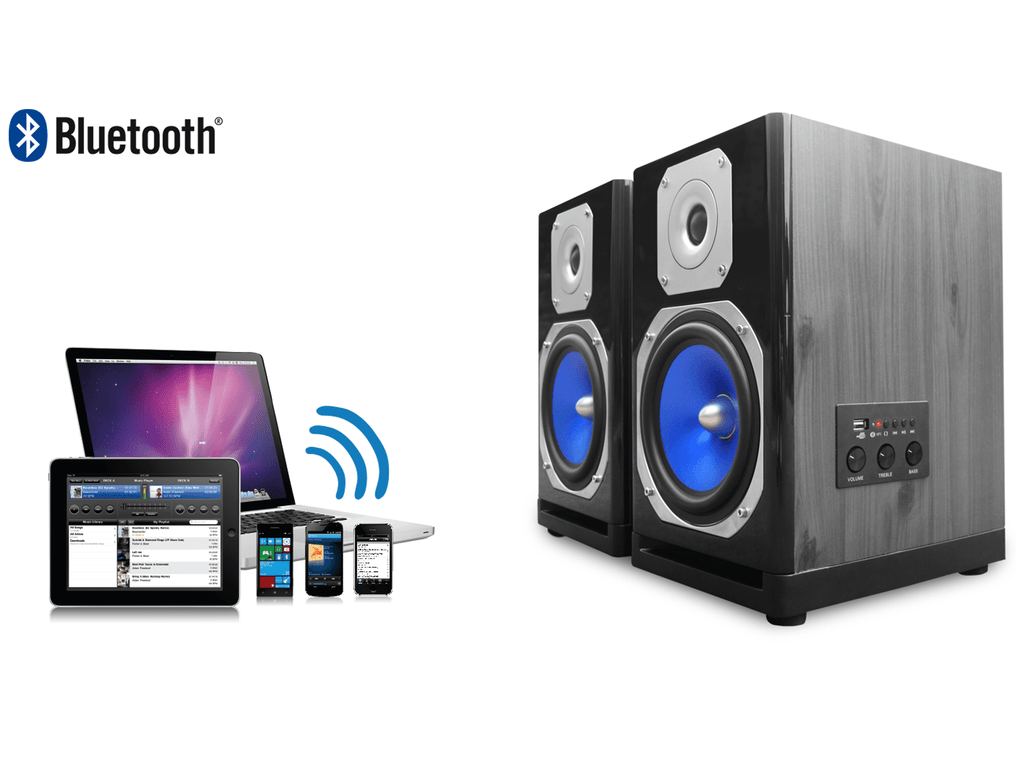 Technical Pro - Powered Bluetooth® USB Studio Monitors