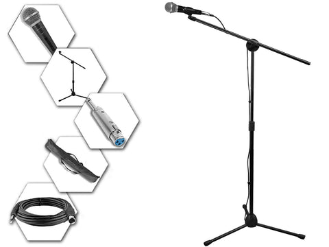 Dual UHF Wireless Microphone Lapel & Headset System