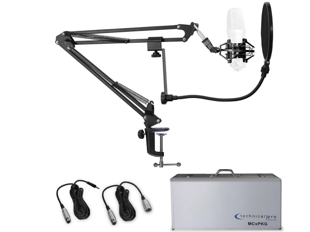 Technical Pro - Pro Accessory Microphone Starter Pack (Just add a Mic)
