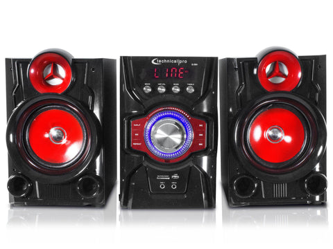 "Bluetooth® Dual 10"" Active Speaker Tower System"