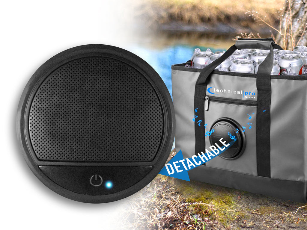 Thick-skin Cooler with Rechargeable Bluetooth Speaker