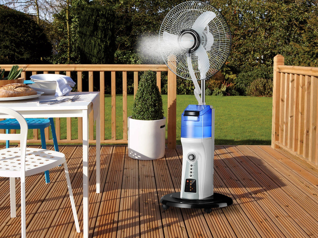 "16"" Rechargeable Misting  Fan"