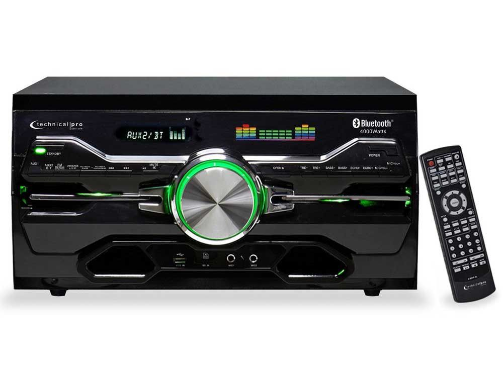 Technical Pro - Pro Bluetooth® DVD Receiver