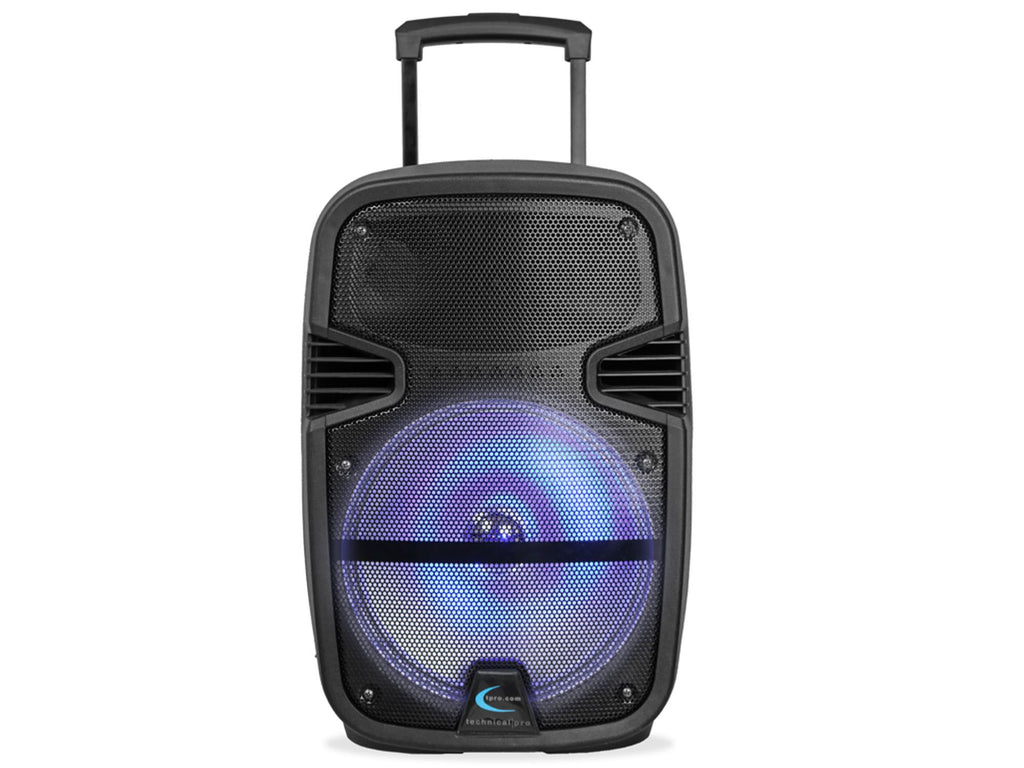 "Technical Pro - Rechargeable 12"" LED Active Loudspeaker"