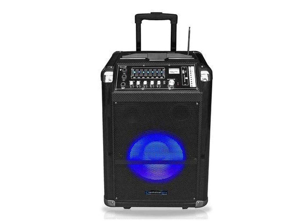 "Technical Pro - Rechargeable 12"" Active LED Loudspeaker"