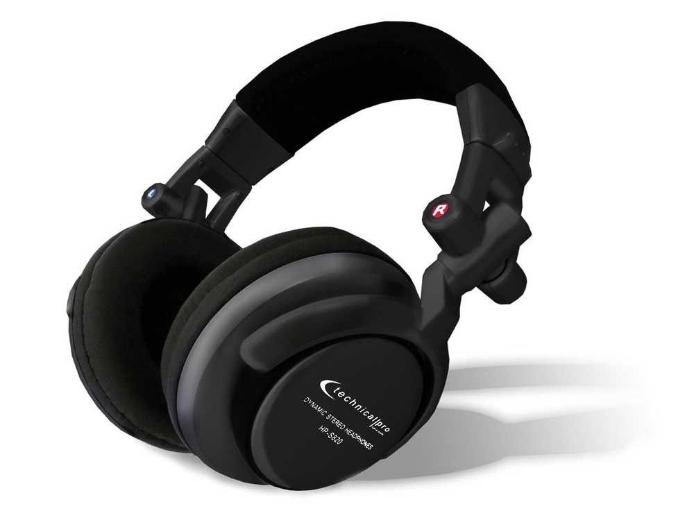 Technical Pro - Pro Super Bass Headphone
