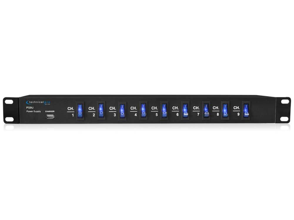 Technical Pro - Rack Mount Power Supply