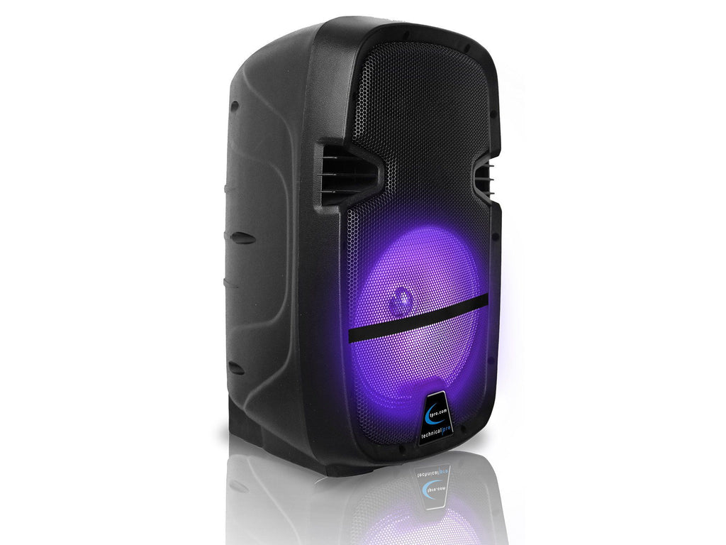 Rechargeable Bluetooth® LED Active Loudspeaker