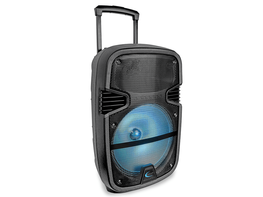 "Rechargeable 12"" LED Active Loudspeaker"