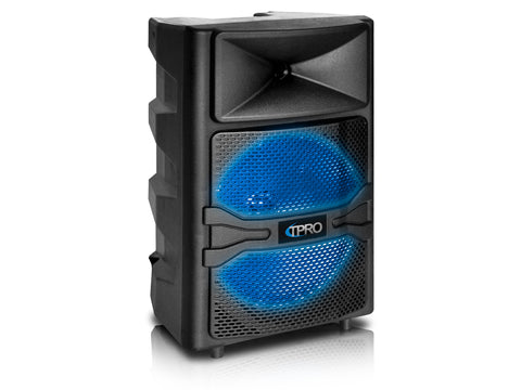 "Integrated DJ Mixer Dual Active 12"" Speaker System"