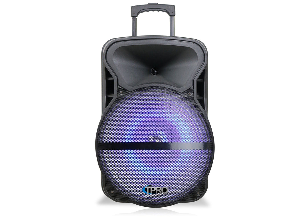 "Technical Pro - 15"" Bluetooth® LED Loudspeaker"