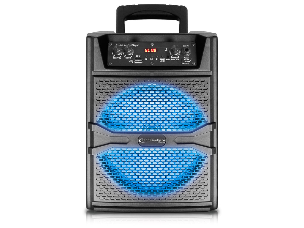 "8"" Bluetooth® LED Speaker"