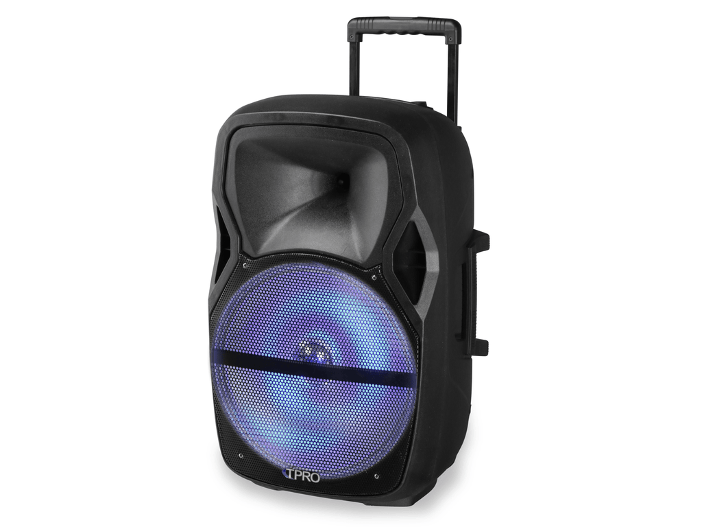 "Technical Pro - 15"" Active Bluetooth Speaker with USB & SD Card Reader"