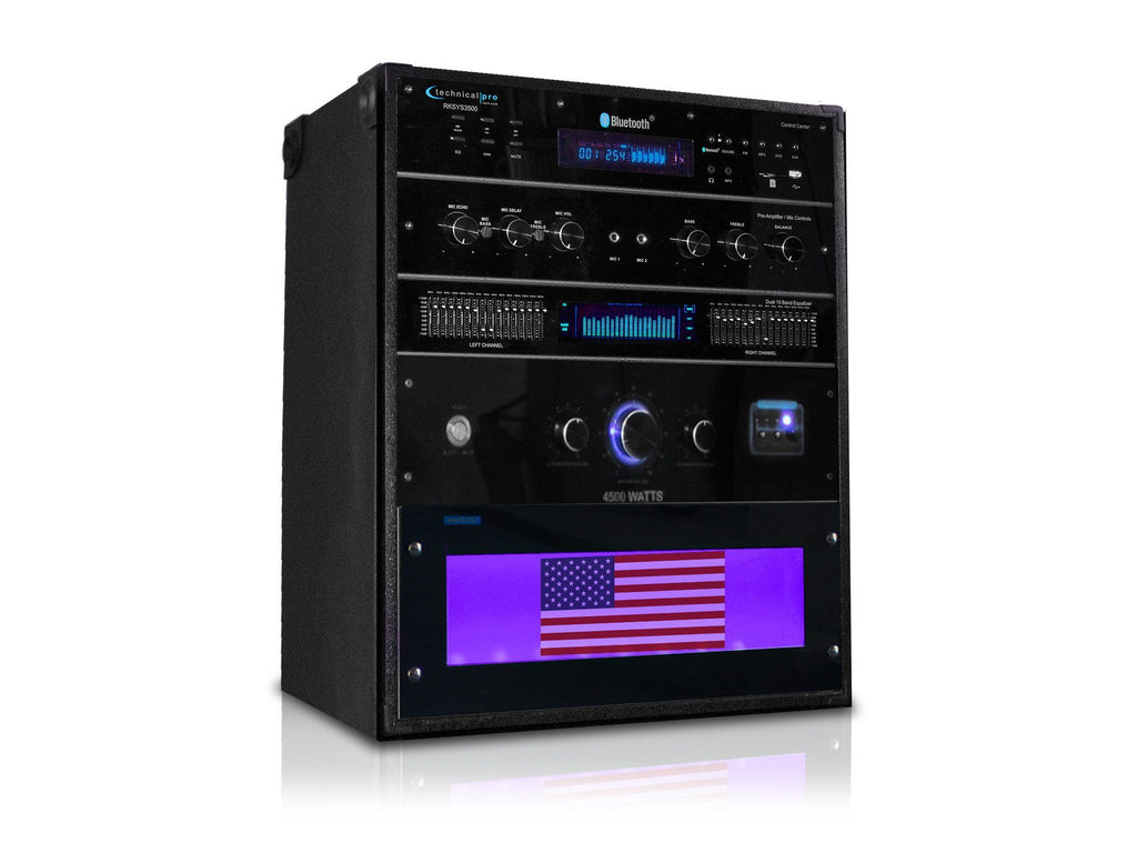 Technical Pro - Pro 4500 Watt Bluetooth Rack System