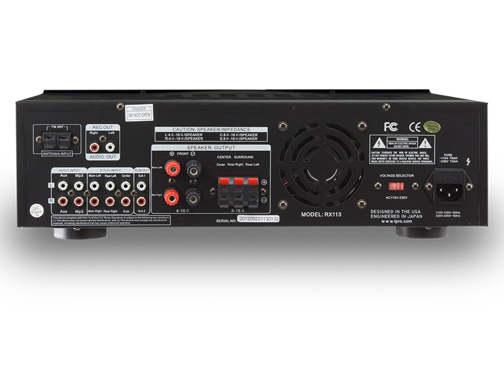 Technical Pro - Receiver with Built in Equalizer