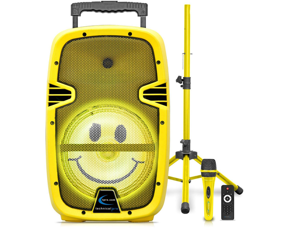 Technical Pro - SMILE LED Loudspeaker with Mic