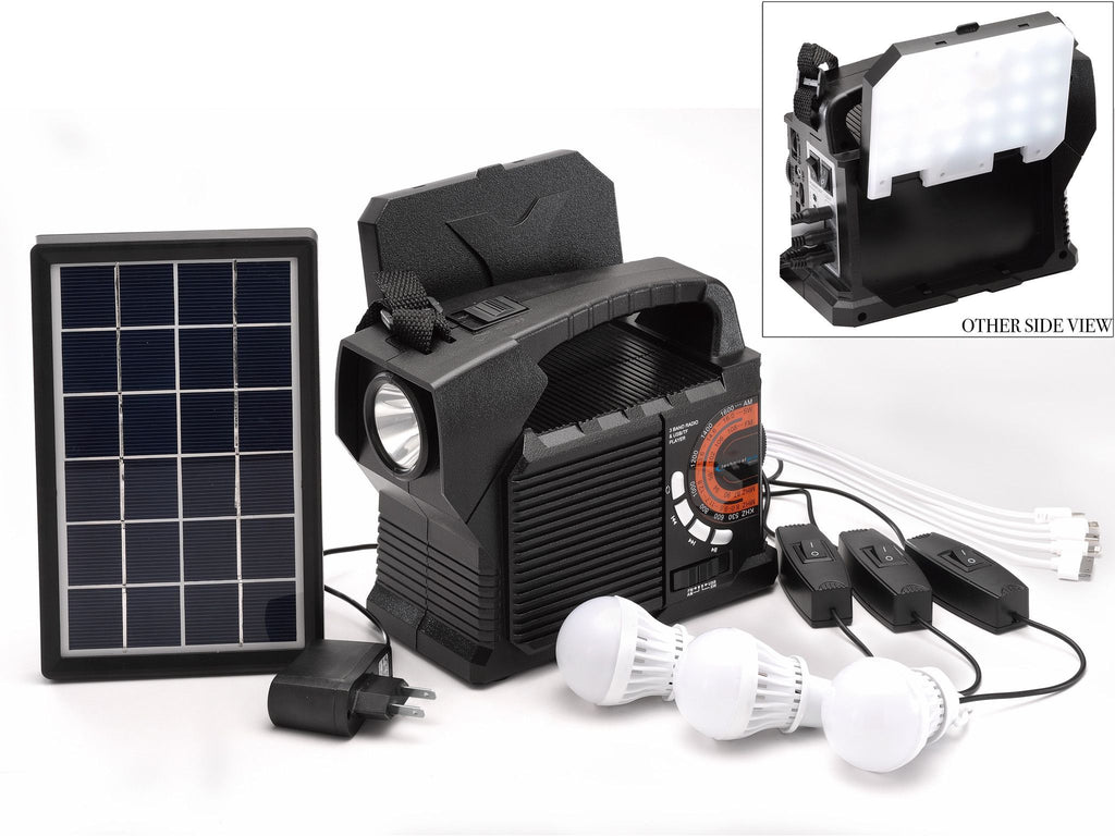 100-in-10 Solar Power Bank Speaker
