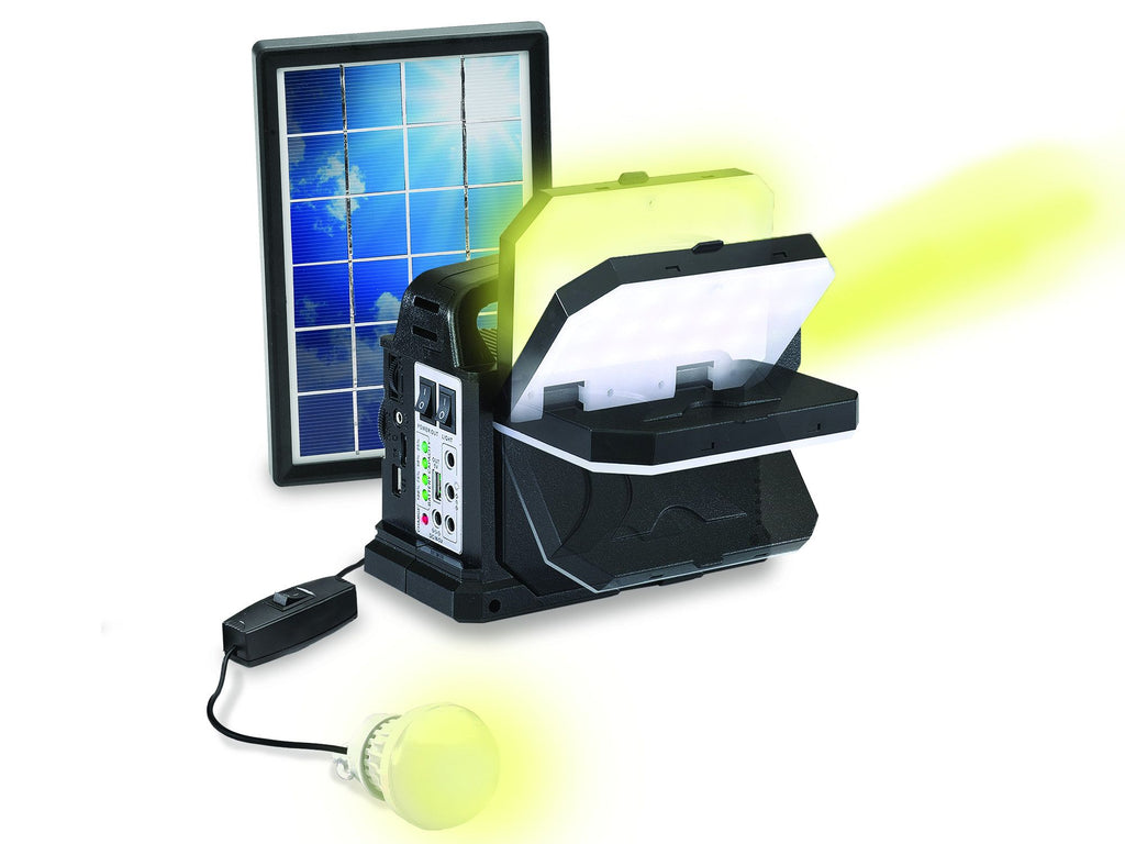 Technical Pro - 9-in-1 Solar Power Bank Speaker