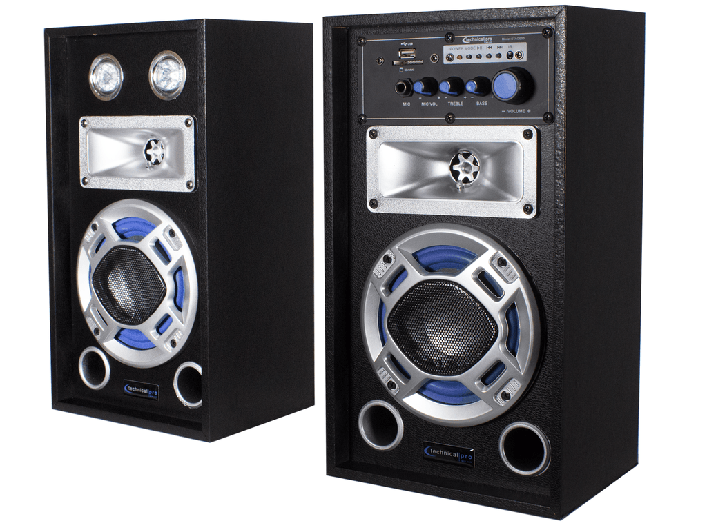 Technical Pro - Bluetooth Stage Speaker System with Package Option