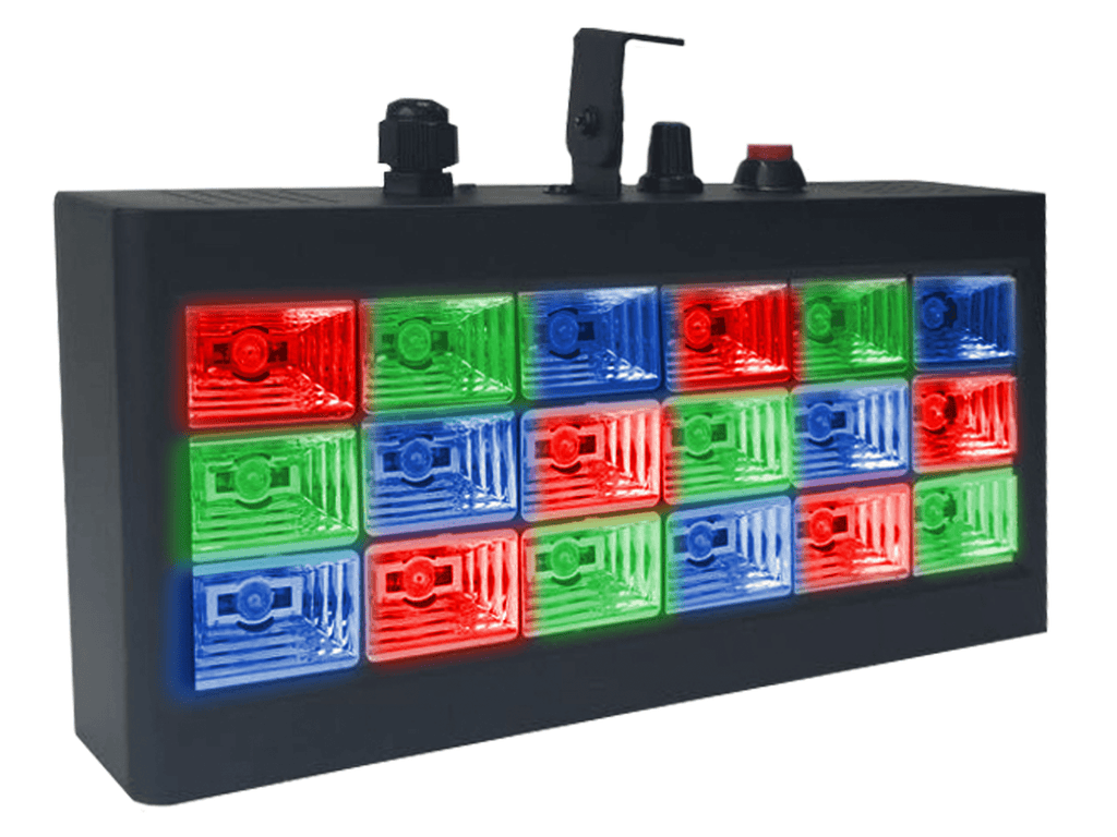 Technical Pro - Pro Party 18 Colored LED Strobe Light