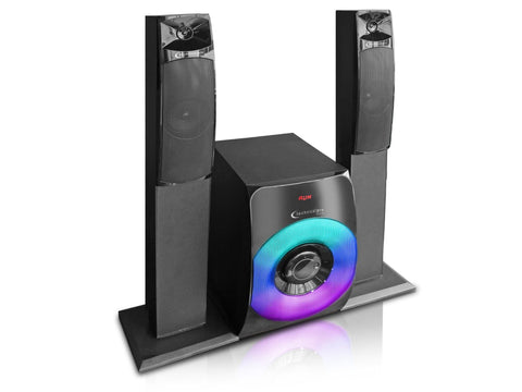 "Bluetooth Speaker with 19"" DVD Screen"