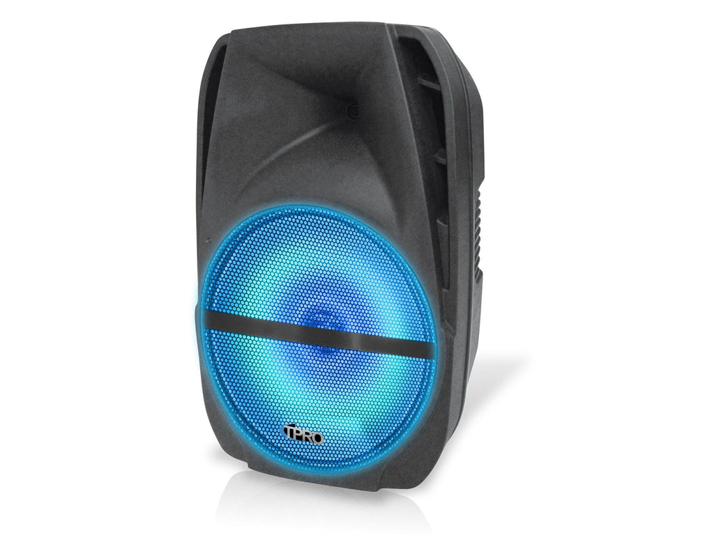 "Rechargeable 15"" Bluetooth LED Speaker"