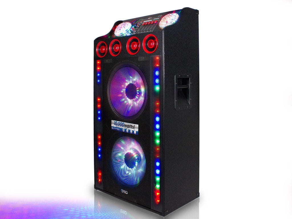 "Technical Pro - 10,000 Watt 15"" LED Speaker System"