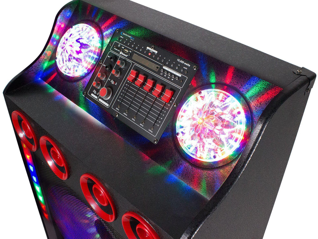 "Technical Pro - NEW! 10,000 Watt 15"" LED Speaker System"