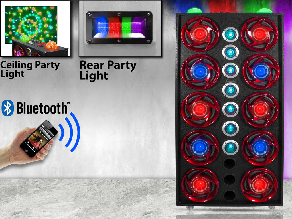 Technical Pro - 10,000 Watt LED 8K Speaker System NEW!