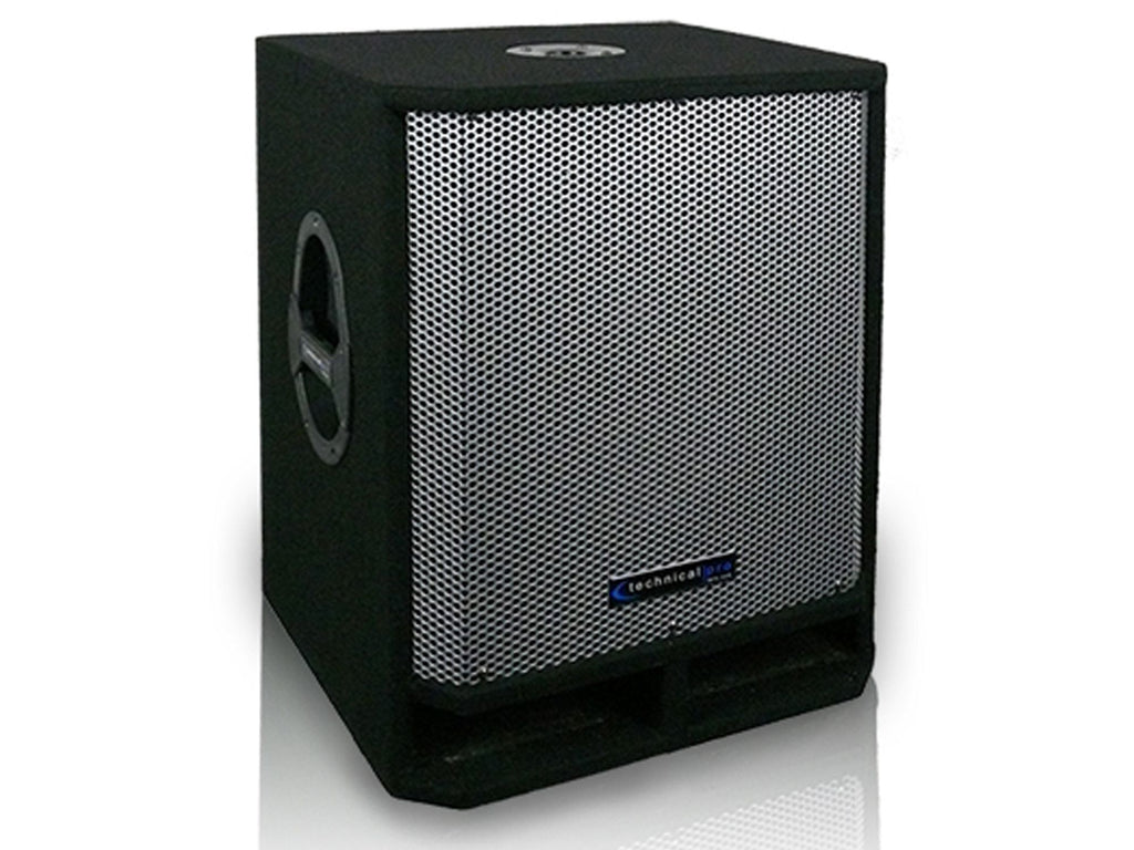 "Technical Pro - Carpeted 15"" Passive Subwoofer"