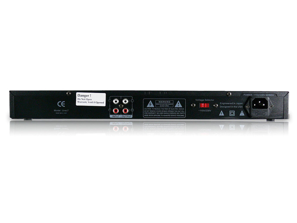 Rack Mountable Recording Deck