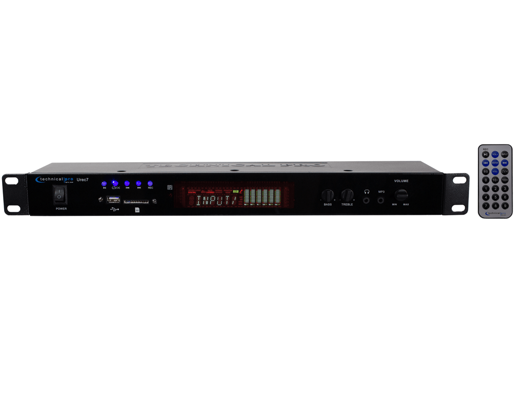 Technical Pro - Rack Mountable Recording Deck