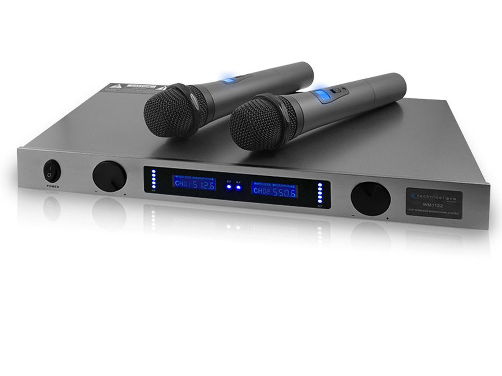 Technical Pro - Pro Dual UHF Wireless Microphone System