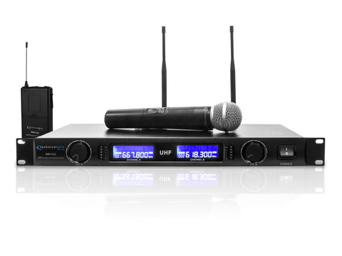Pro VHF Wireless Microphone System