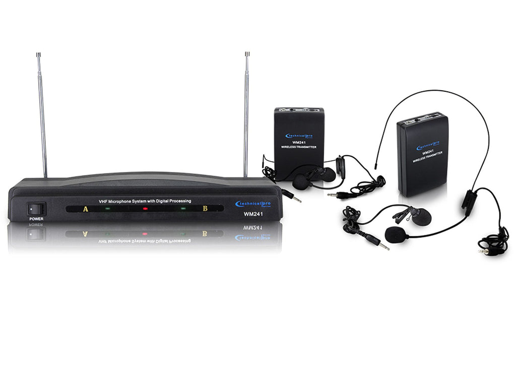 Technical Pro - Dual signal VHF Microphone System