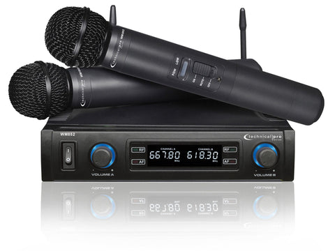 Pro UHF Wireless Microphone