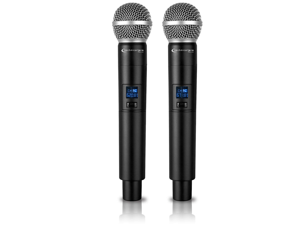 Technical Pro - NEW! Dual UHF Wireless Microphone System